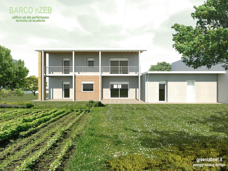 Edificio ad alta efficienza energetica Brescia