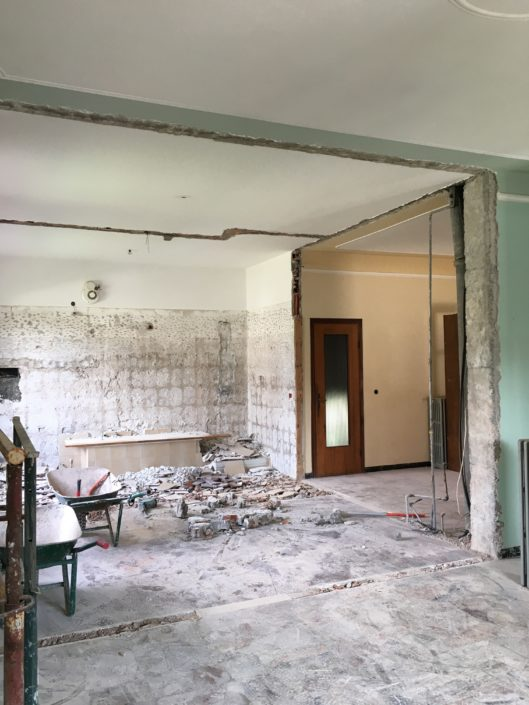 demolizioni in ristrutturazione casa