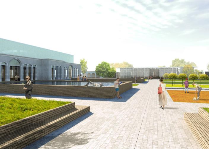 Progetto di recupero edifici Poveglia greenlab
