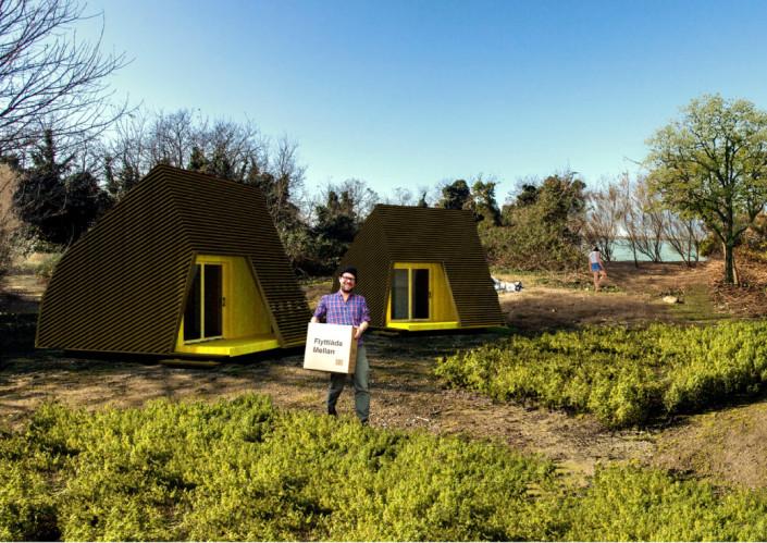 Progetto di abitazione modulare greenlab