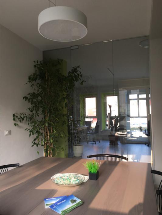 Progetto nuovo studio greenlab sala riunioni