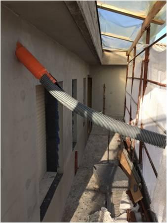 Riqualificazione energetica condominio il cantiere